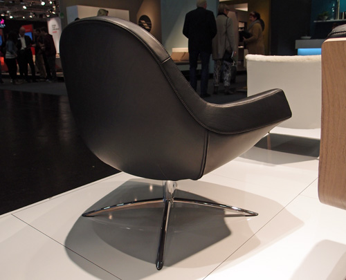 Fredo chair swivel base. IFF Cologne 2013