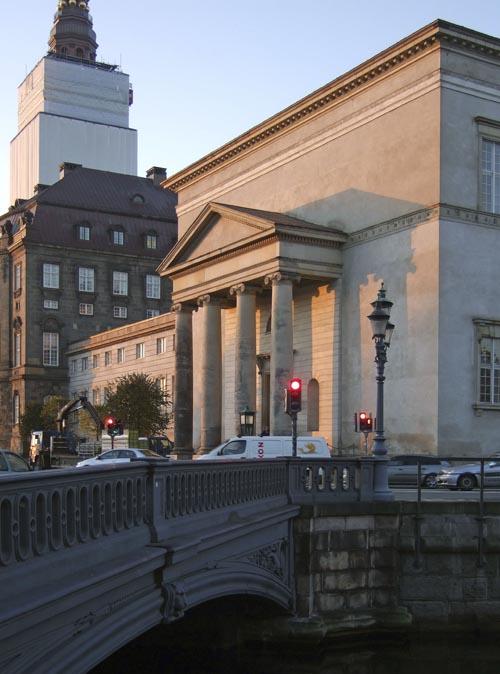 Christiansborg Slotskirke af arkitekt C.F. Hansen