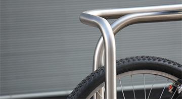 Cykelog, Burri Public Elements 2015. Detalje