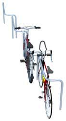 CYKELOG afgrænsning mod trafik. Cykler parkeres på modsatte side.