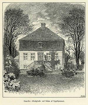 Landstedet Rolighed, ca. 1895