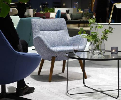 Bourbon side chair by KEBE, IMM Cologne 2018. Design: Jacob Würtzen / KEBE