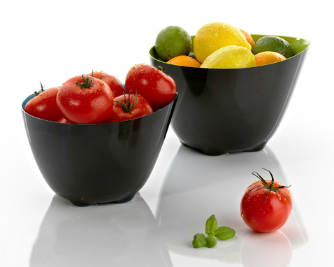 Mix melamine bowls by Zone Denmark, 2012. Design: Kristian Due-Hansen & Jacob Würtzen