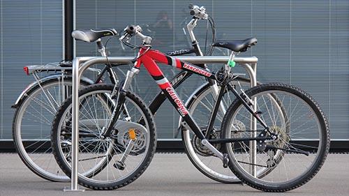 Cykelog parking system for bicycles, photo BURRI public elements. Design: Jacob Würtzen