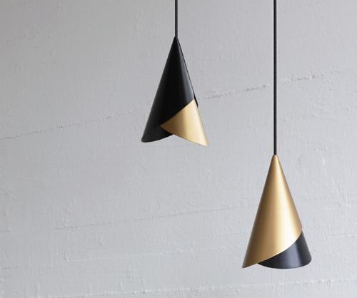 Cornet lamp shades by UMAGE, 2020. Design: Jacob Würtzen